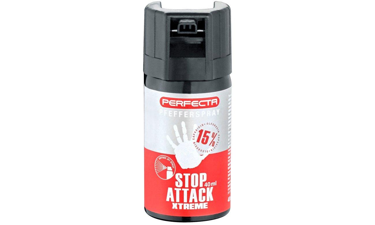 Gaz pieprzowy Umarex Perfecta Stop Attack EXTREME - punktowy 40 ml