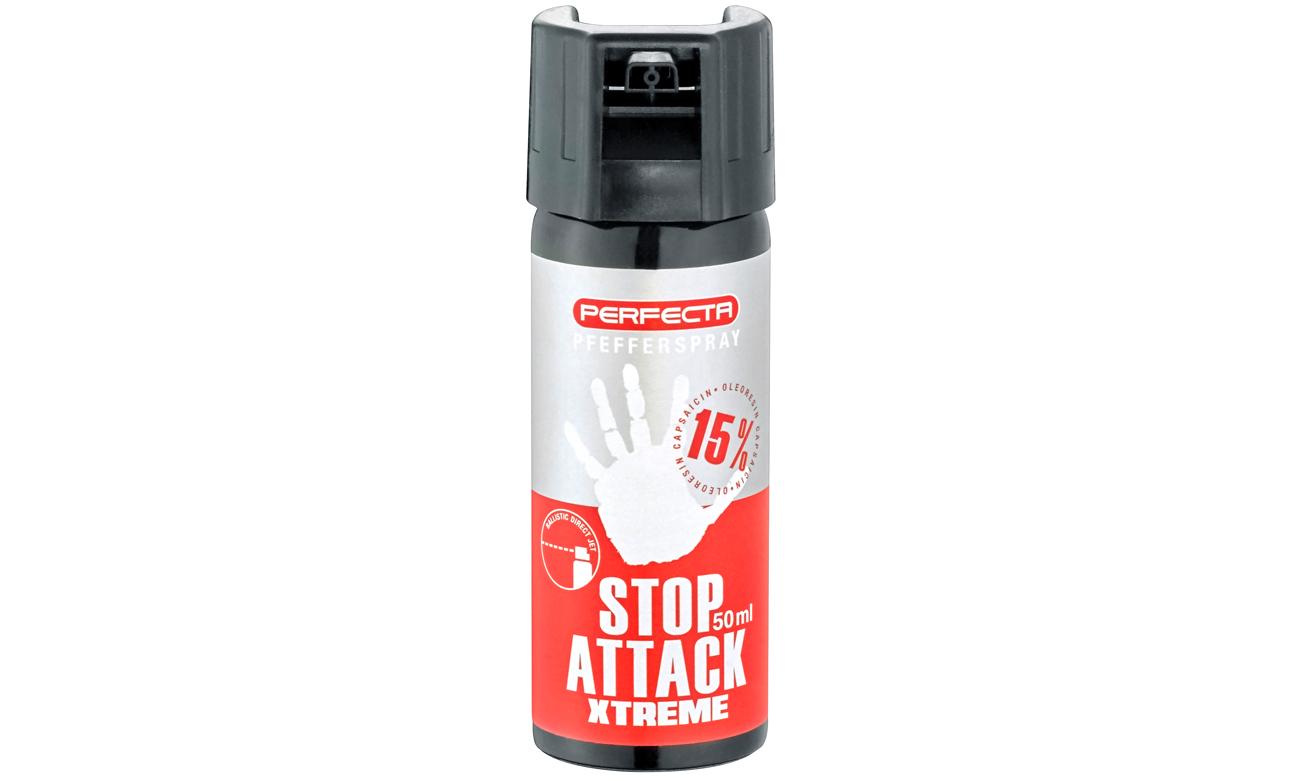 Gaz pieprzowy Umarex Perfecta Stop Attack EXTREME - punktowy 50 ml