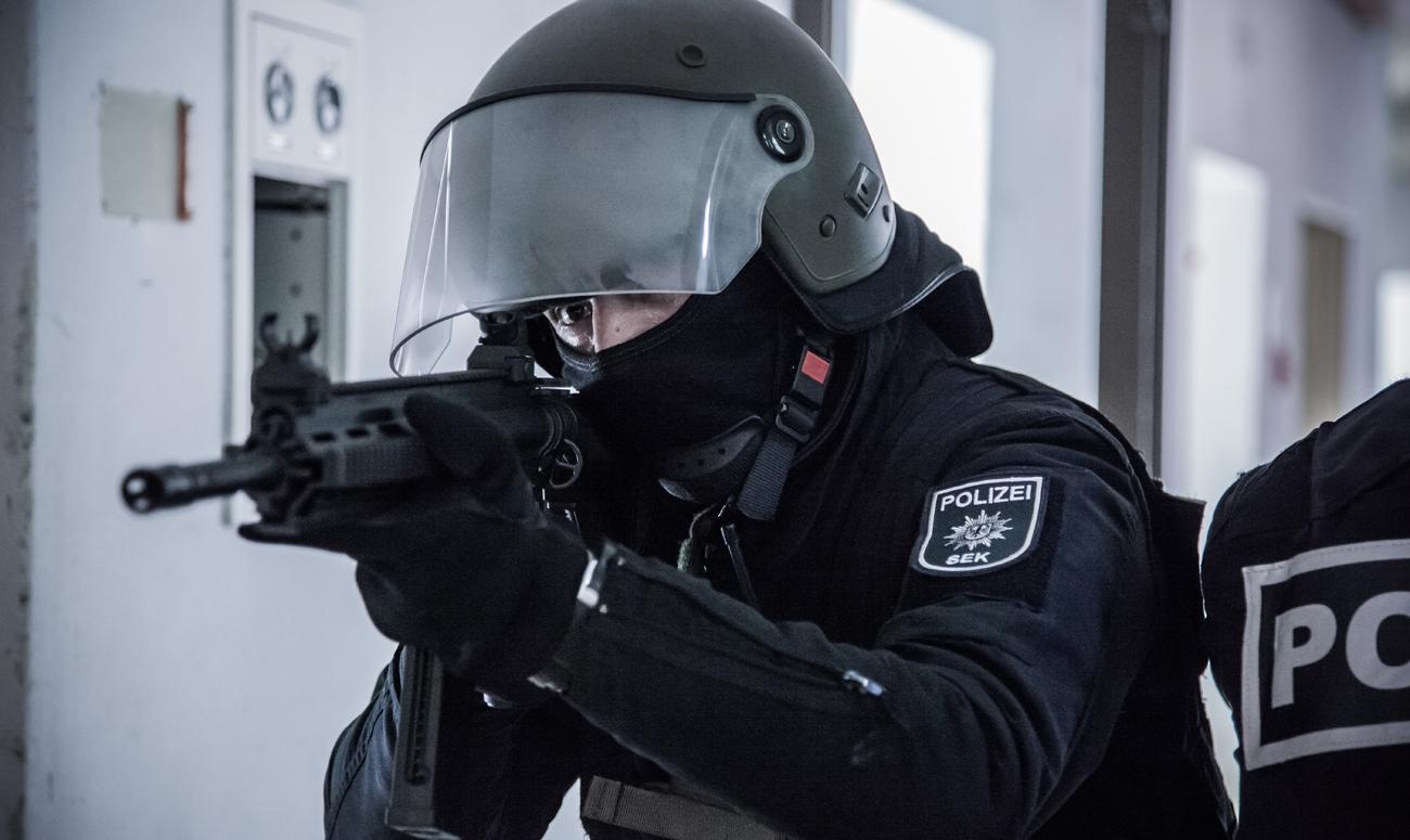 Dynamiczny trening z karabinkiem HK416