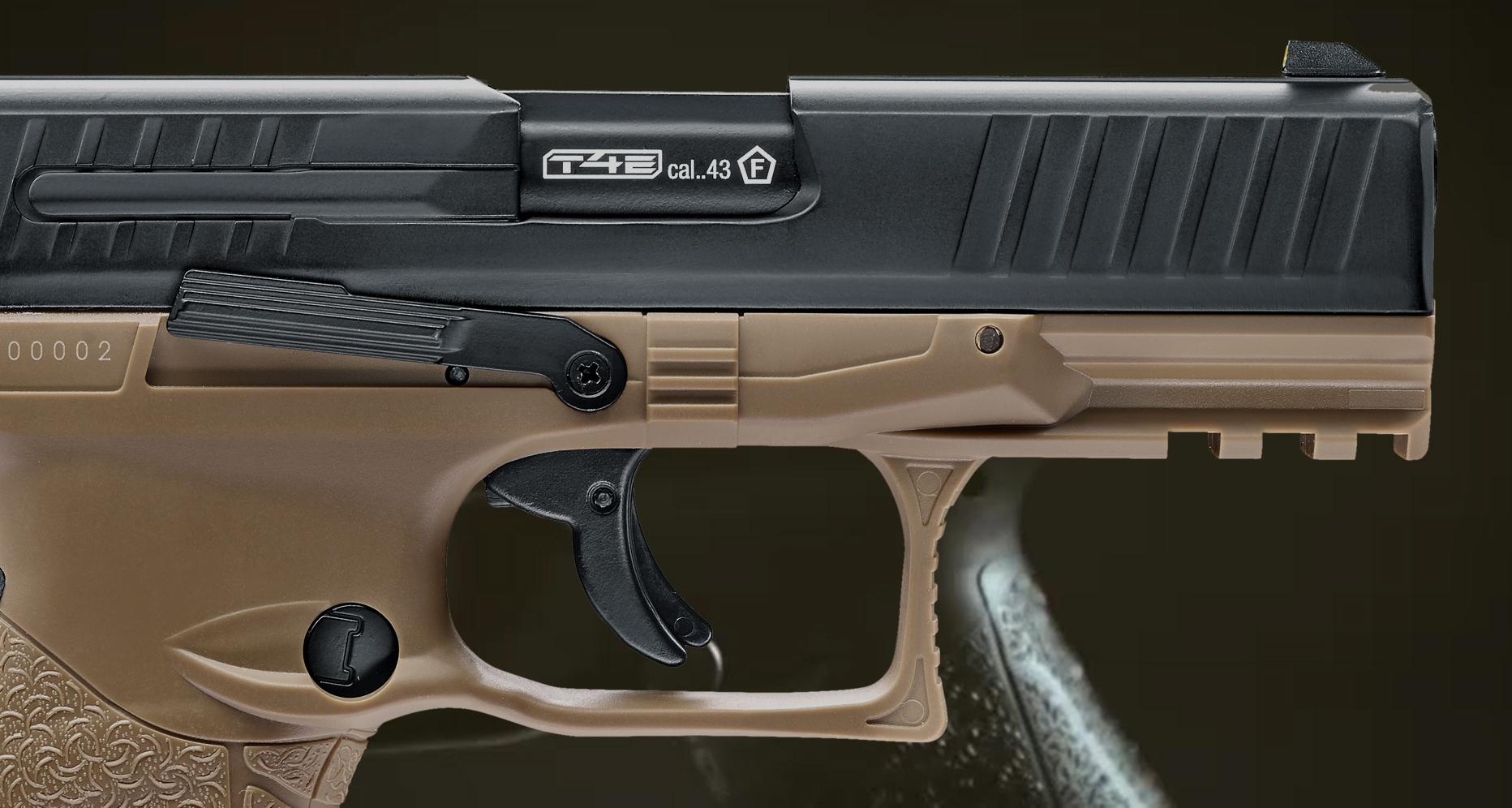 Marker RAM Umarex Walther PPQ M2 T4E szyna akcesoryjna