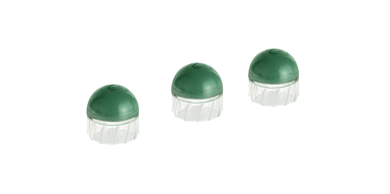 Pociski precyzyjne polimerowe zawierające zieloną farbę markującą T4E MBP50 kal. 12,70 mm .50 cala
