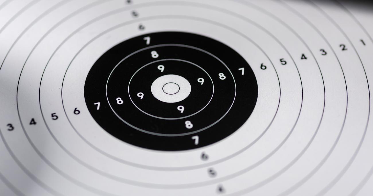 Tarcza strzelnicza do treningu strzeleckiego