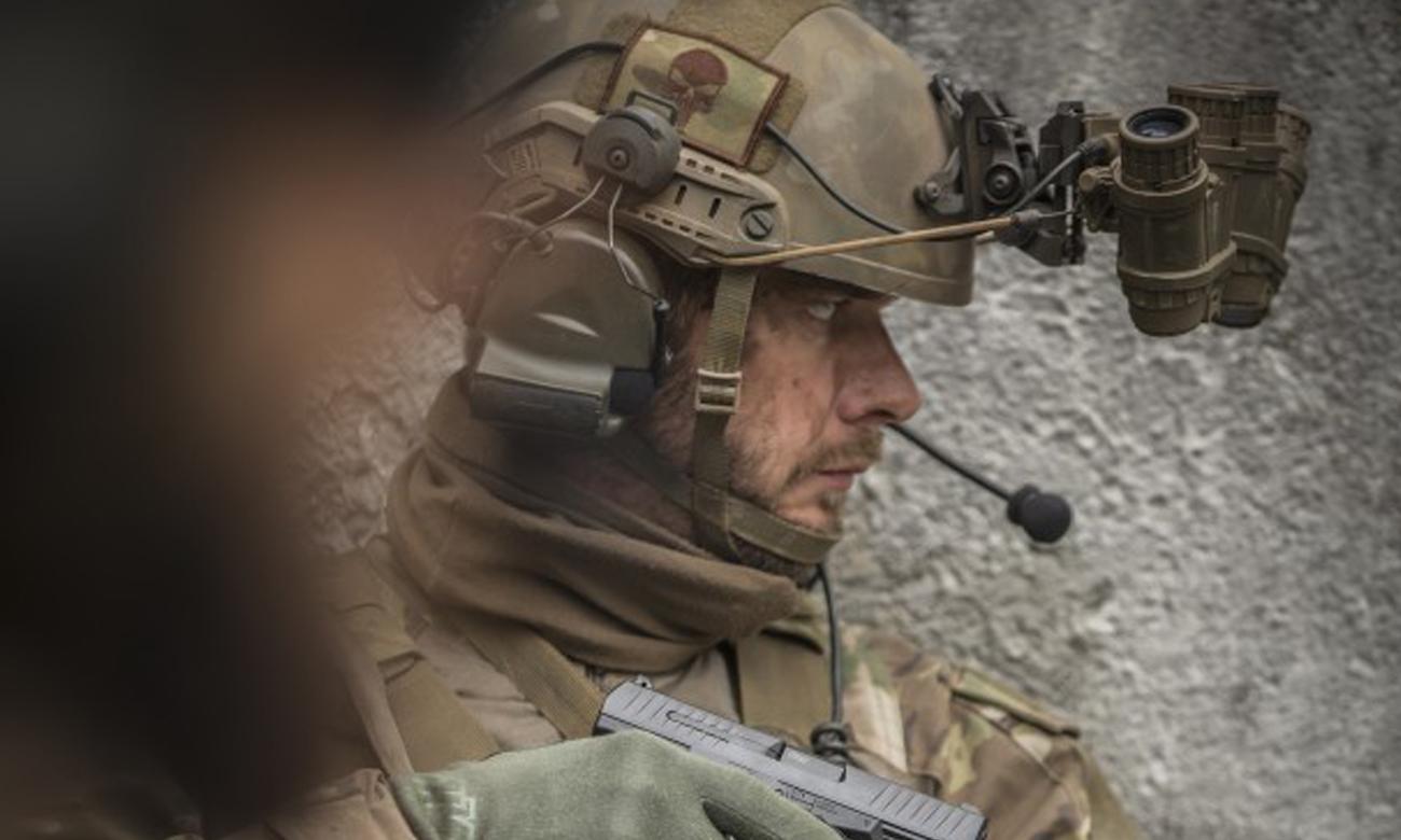 Strzele ASG z pistoletem Walther