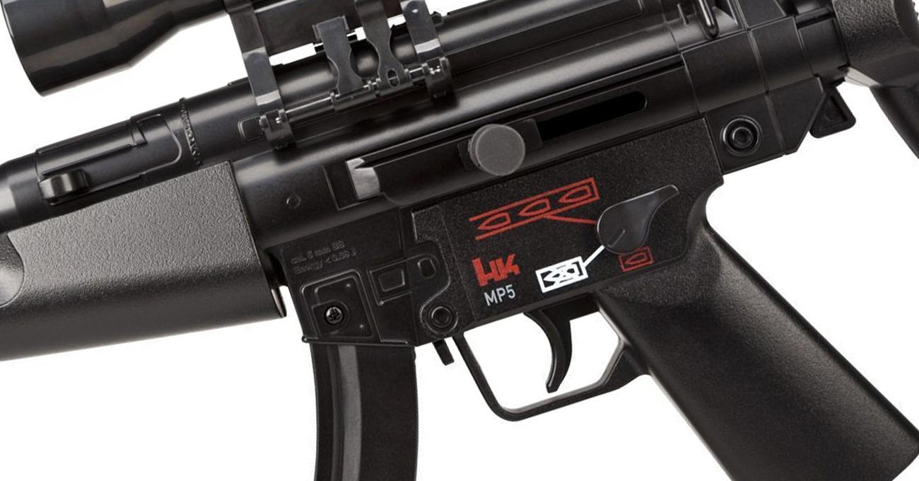 Airsoft Pistolet H&K USP Compact 6 mm Sprężynowy bok
