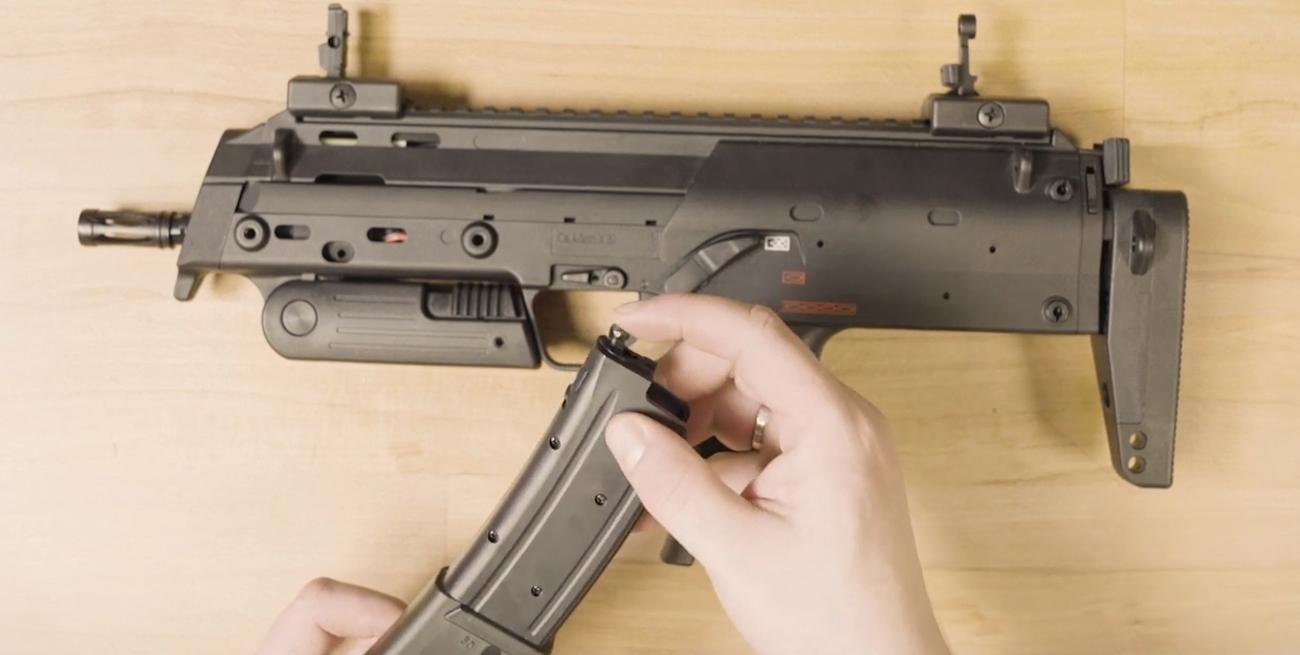Pistolet Heckler & Koch MP7 A1 kal. 6 mm BB