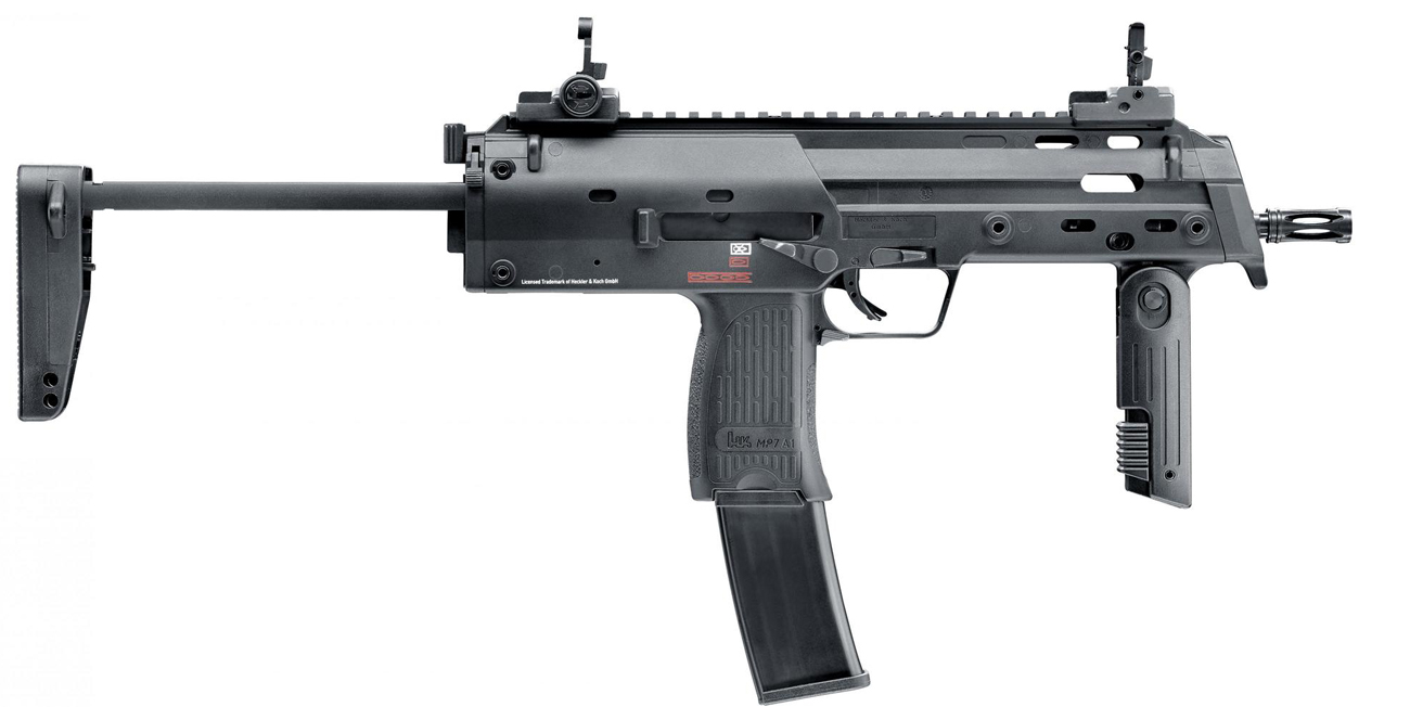 Pistolet ASG MP7 A1