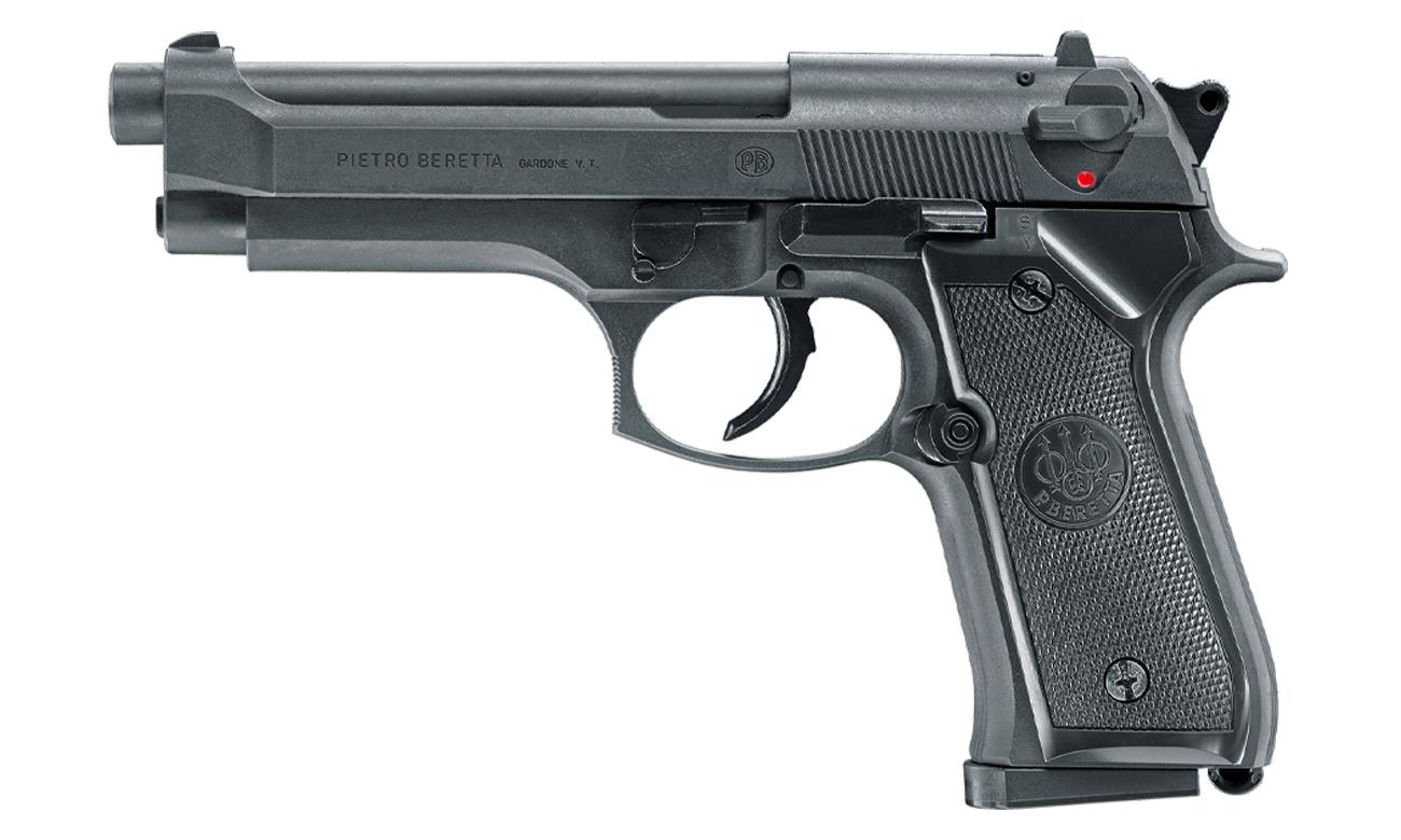 Airsoft Pistolet Beretta M92 FS PSS 6 mm Sprężynowy widok od boku