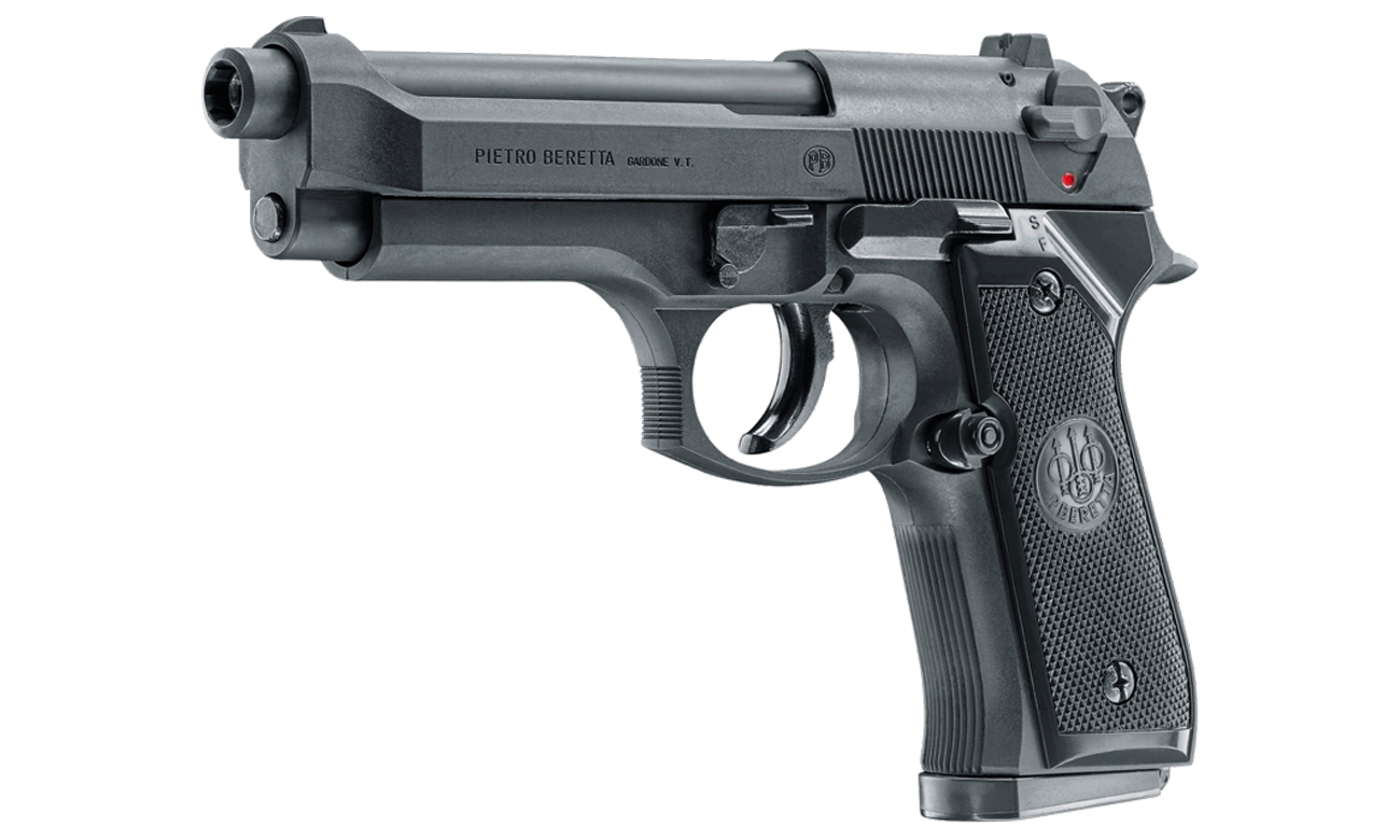 Airsoft Pistolet Beretta M92 FS PSS 6 mm Sprężynowy widok pod skosem