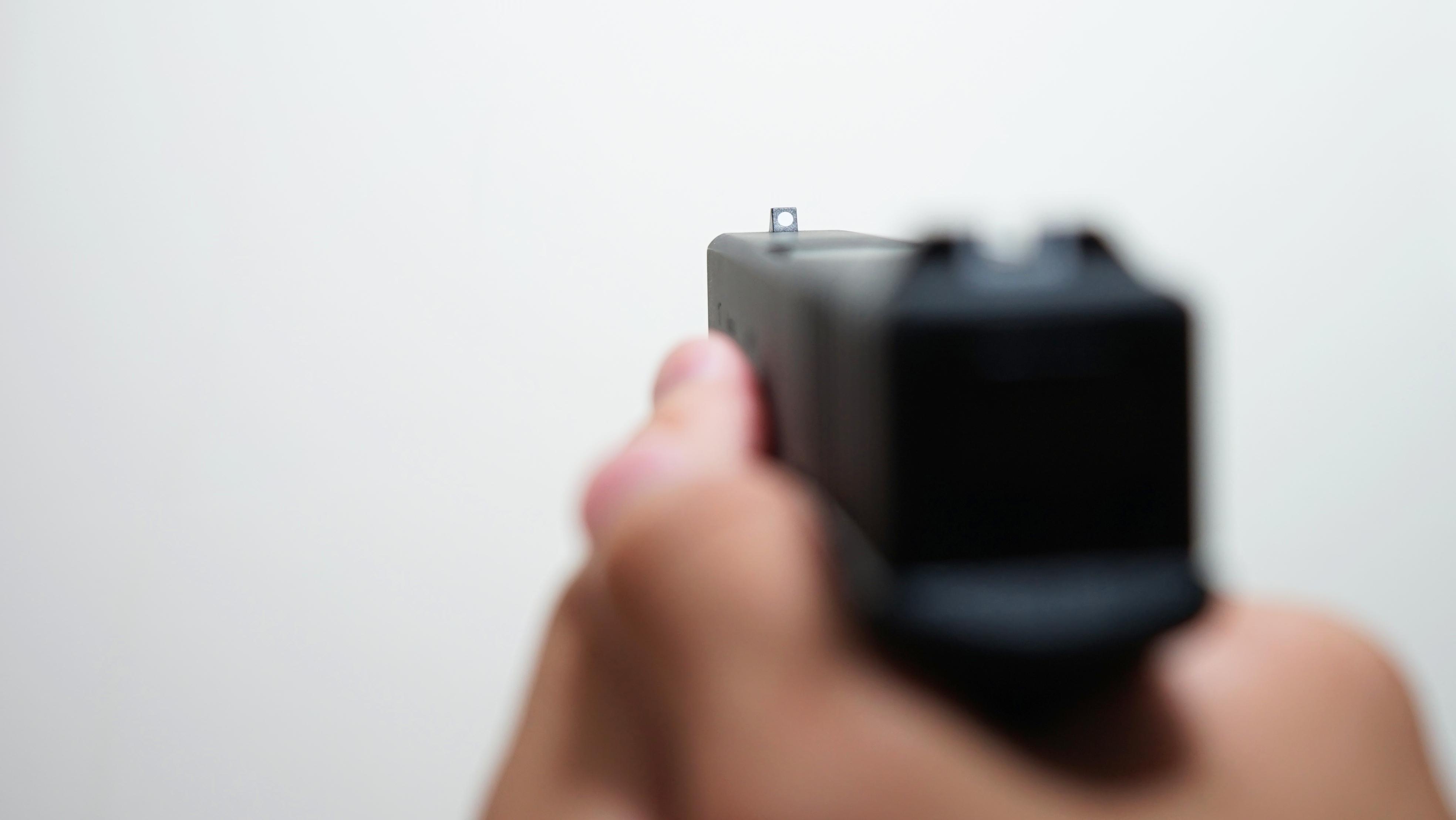 Glock17 w czasie treningu ASG