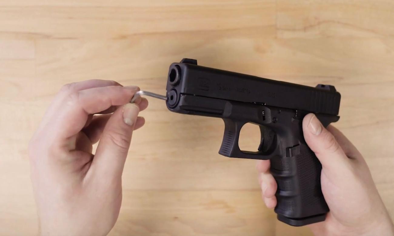 Lifestyle z pistoletem Glock 19