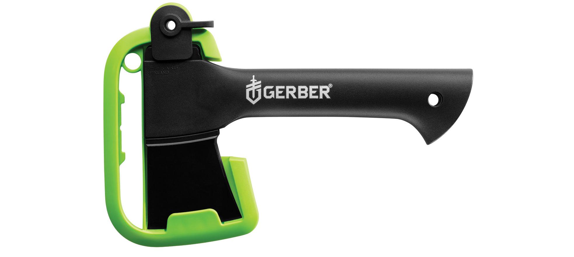 Toporek Gerber Gear 9 Back Paxe II wraz z osłonką ostrza