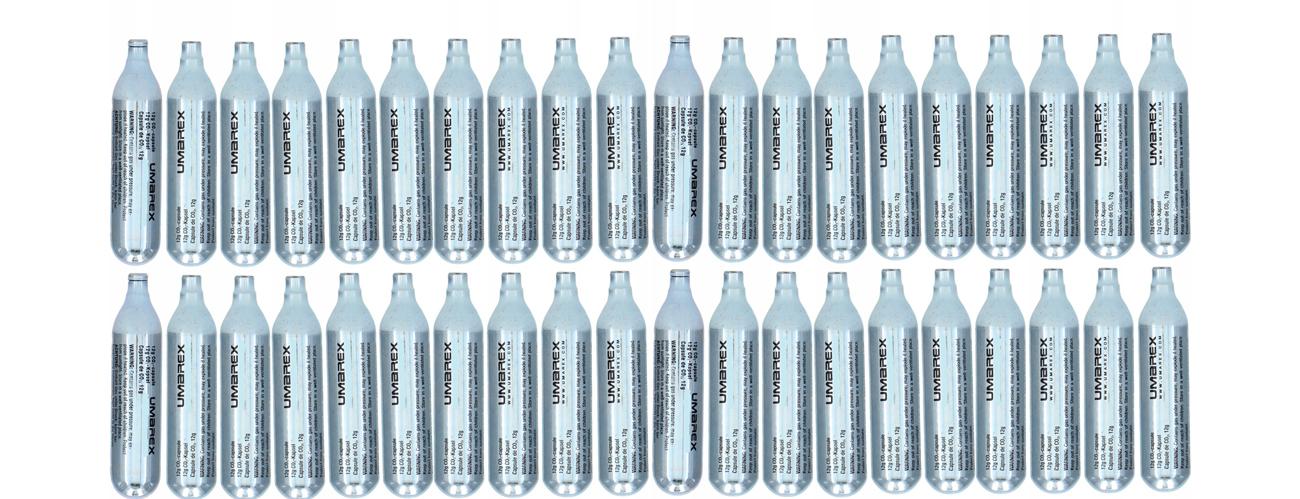 Kapsuła CO2 Umarex nabój 12 g - zestaw 40 szt.