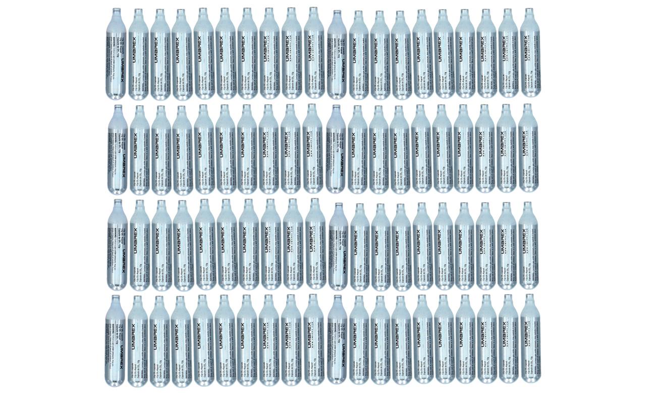 Kapsuły CO2 12 gram 80 sztuk
