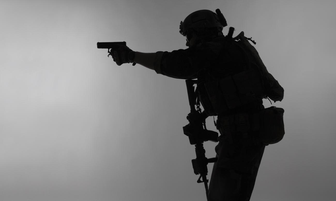 Strzelec z pistoletem
