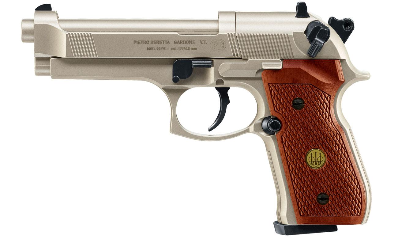 Wiatrówka Umarex Beretta M92 FS 4,5 mm Nickel