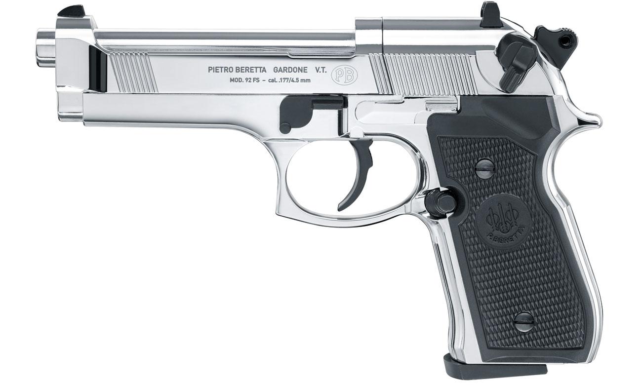 Wiatrówka Umarex Beretta M92 FS 4,5 mm Chrome