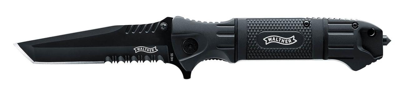 Nóż składany Walther Black Tac Tanto