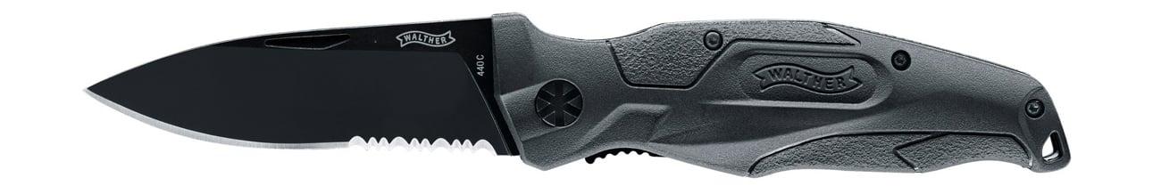 Nóż składany Walther Multitac Military Black TFK 3