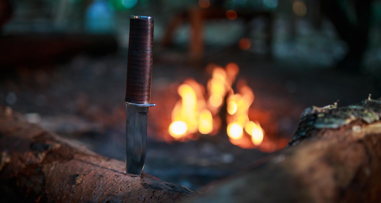Nóż Walther AWF2 ognisko