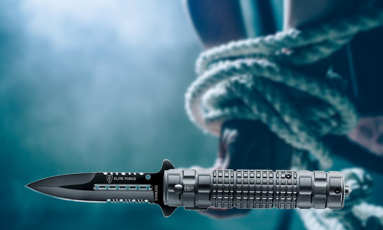 Nóż Elite Force z ostrzem do lin