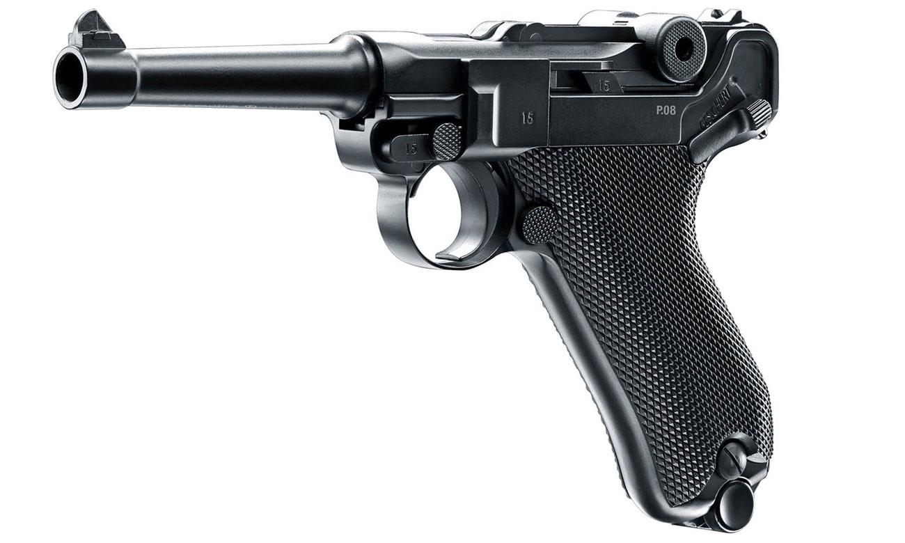 Bezpieczeństwo użytkowania Umarex Legends P08 Blow Back 4,5 mm