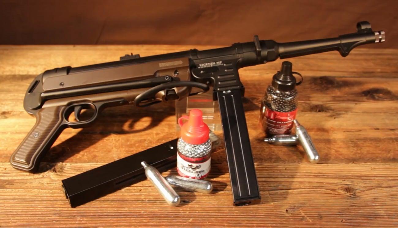Umarex Legends MP40 klasyczny pistolet maszynowy