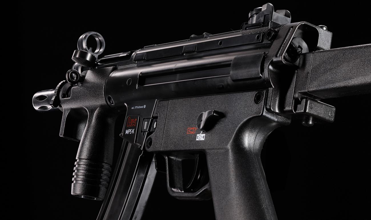 Heckler & Koch MP5 K-PDW niezawodna metalowa konstrukcja