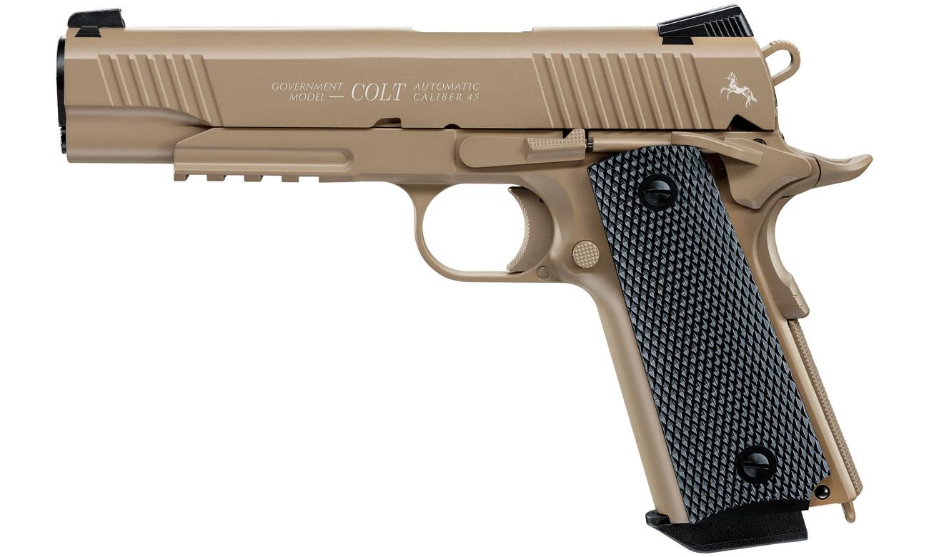 Pistolet Colt M45 A1 CQBP FDE kal. 4,5 mm BB