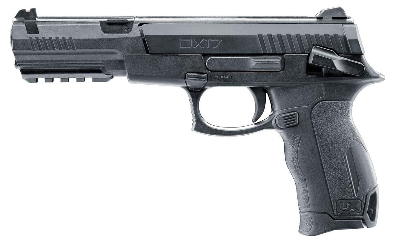 Pistolet Umarex DX17 kal. 4,5 mm Diabolo BB
