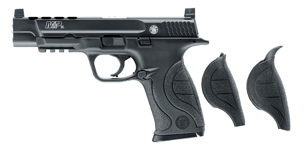 Pistolet Smith & Wesson z wymiennymi okładzinami rękojeści