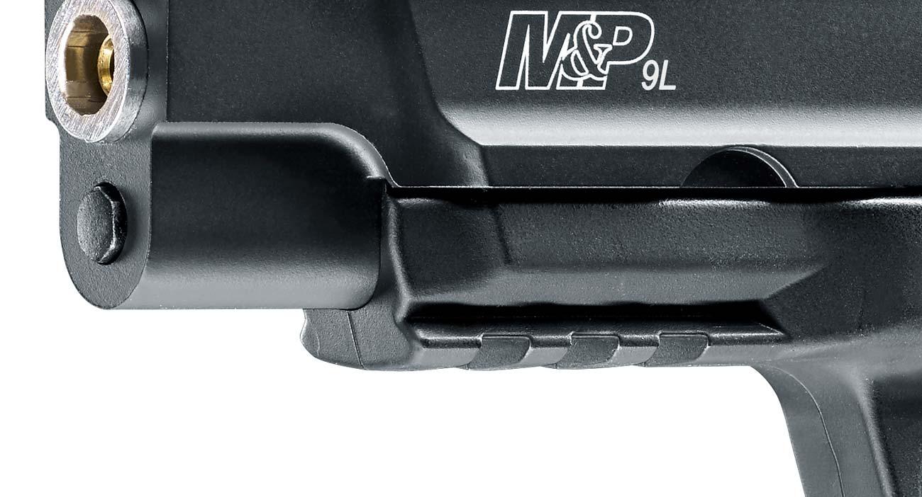 Szyna montażowa w pistolecie M&P9L