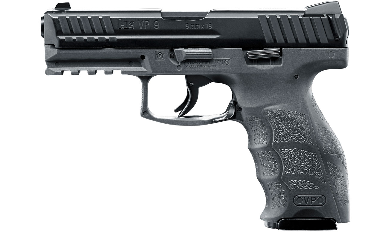 Pistolet Heckler & Koch VP9 Tungsten Grey kal. 4,5 mm BB