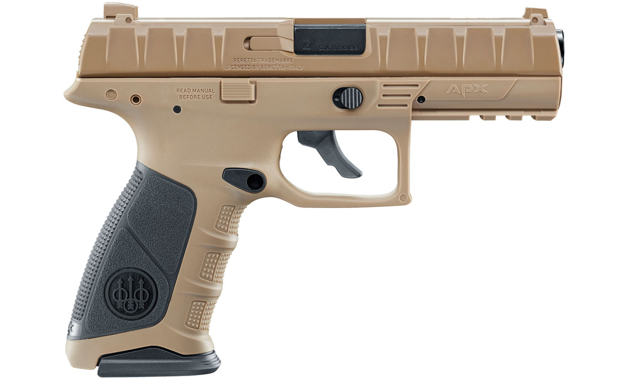 Pistolet Beretta APX FDE kal. 4,5 mm BB