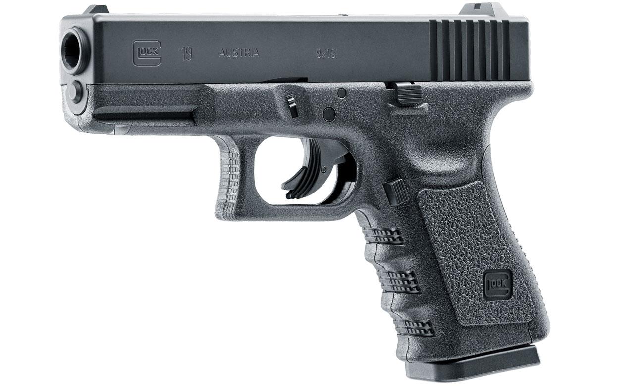 Wiatrówka pistolet Glock 19 4,5 mm