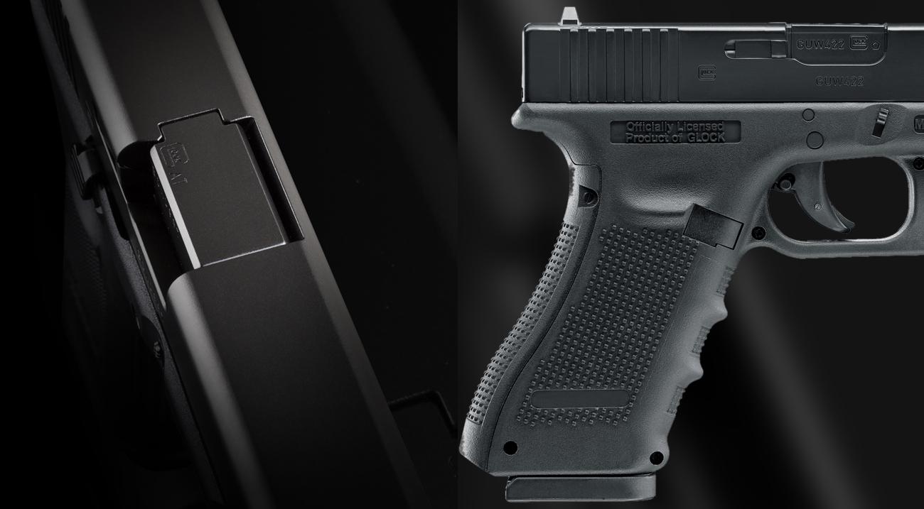 Pistolet Glock 22 4,5 mm
