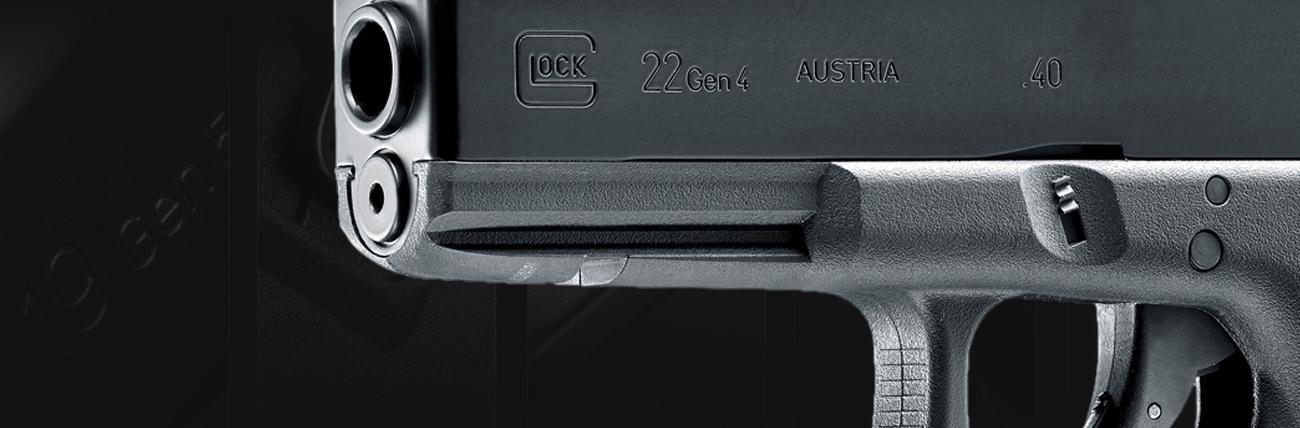 Wiatrówka pistolet Glock 22 4,5 mm