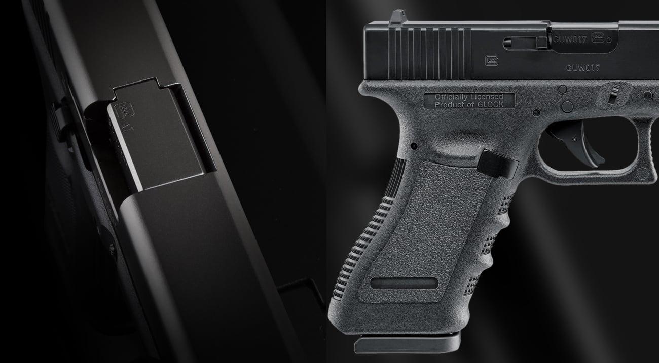 Wiatrówka Glock 17 ponadczasowy design metal abs