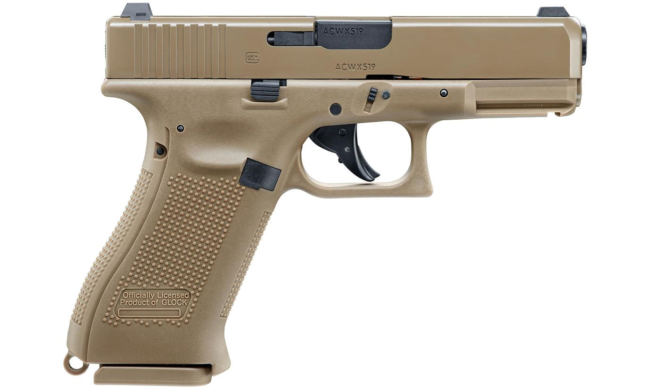Pistolet Glock 19X FDE Blow Back kal. 4,5 mm BB